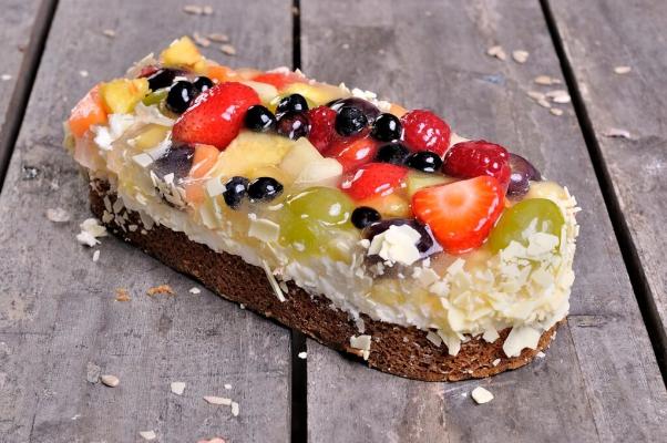 Gesorteerd fruit stammetje