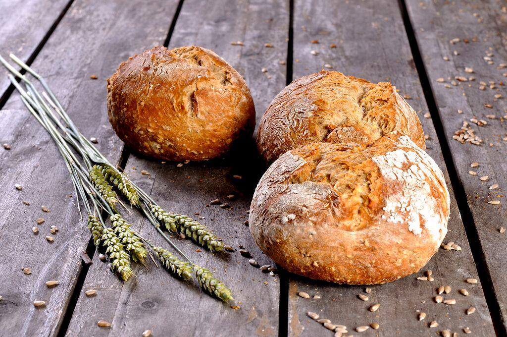 Oer Desem broodje meergranen groot