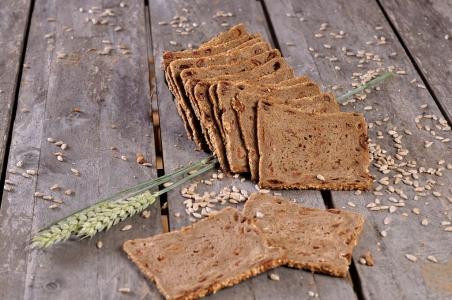 Rozijnen roggebrood