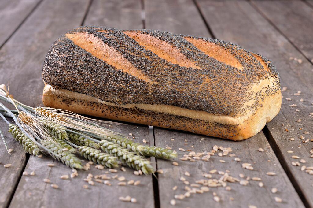 Vloerbrood wit maanzaad