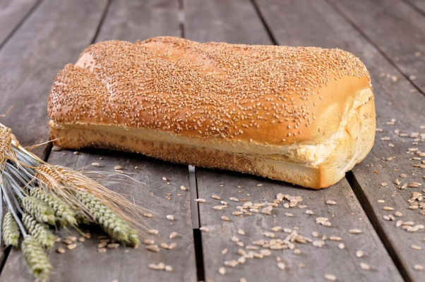 Vloerbrood wit sesamzaad