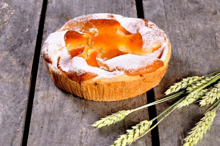 Perzik cake